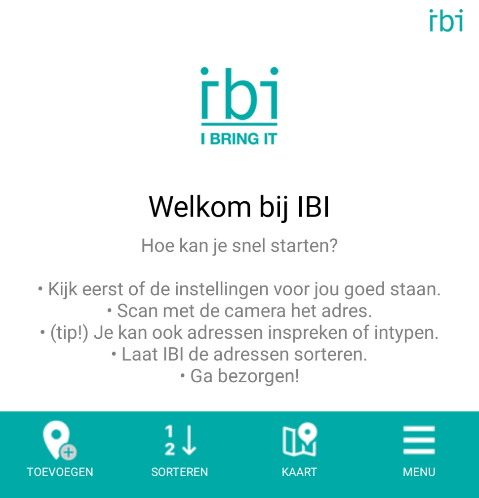 IBI Home Page - new menu - nl