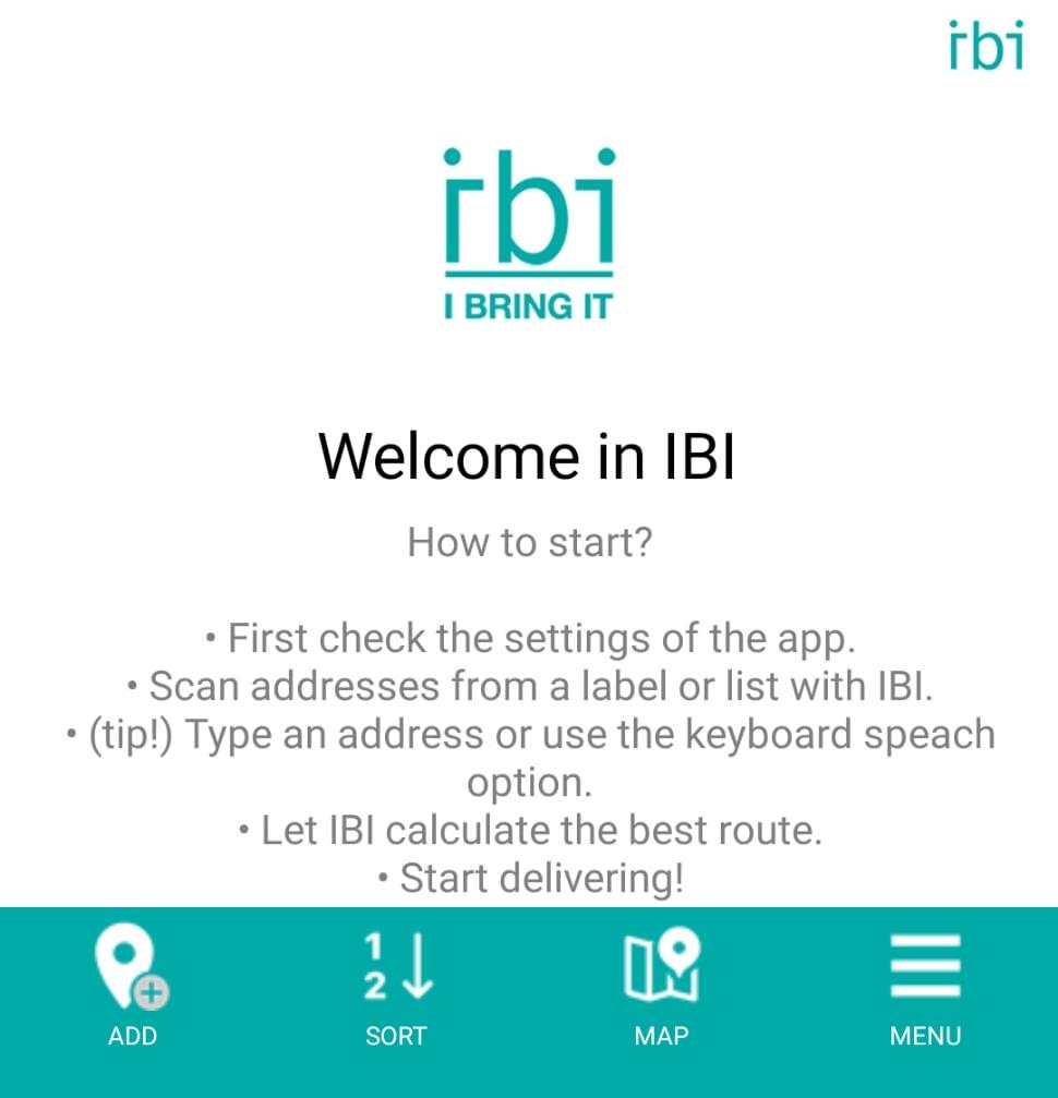 IBI Home Page - new menu
