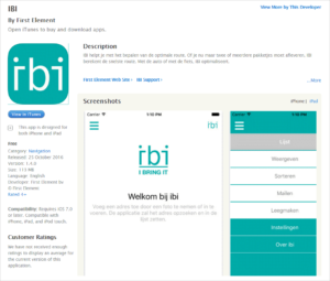 IBI in Apple Store