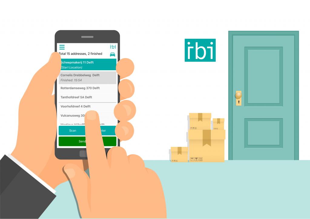 IBI delivery app