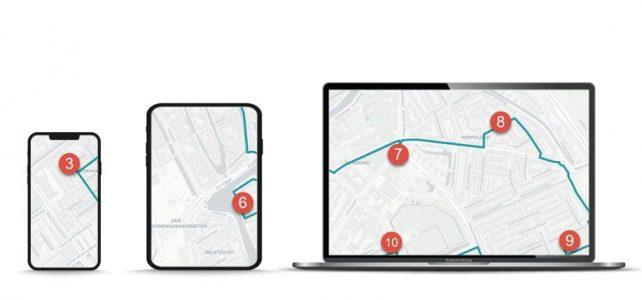 IBI_route_Delft_achter devices