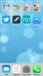Het cross-platform: de IOS versie van IBI