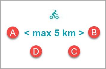 No bike route
